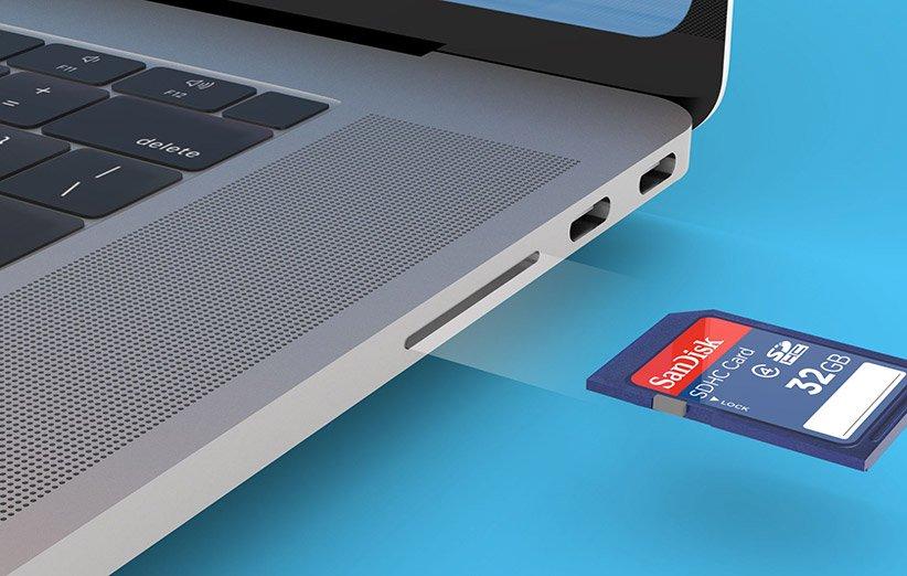 بلومبرج: سيحتوي الجيل القادم من MacBook Pro على قارئ بطاقات SD