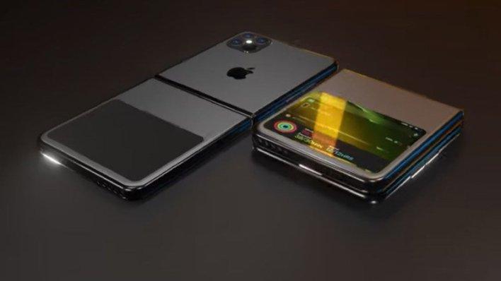 تختبر Apple تصميمين مختلفين لجهاز iPhone القابل للطي