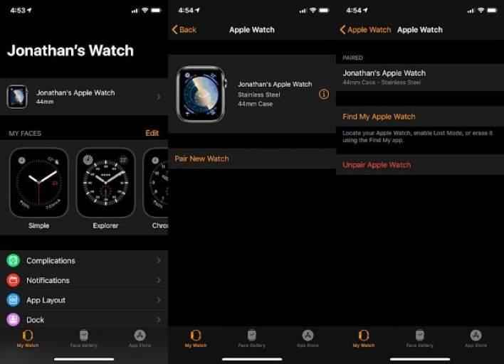 شرح كامل لإعادة ضبط ساعة Apple Watch