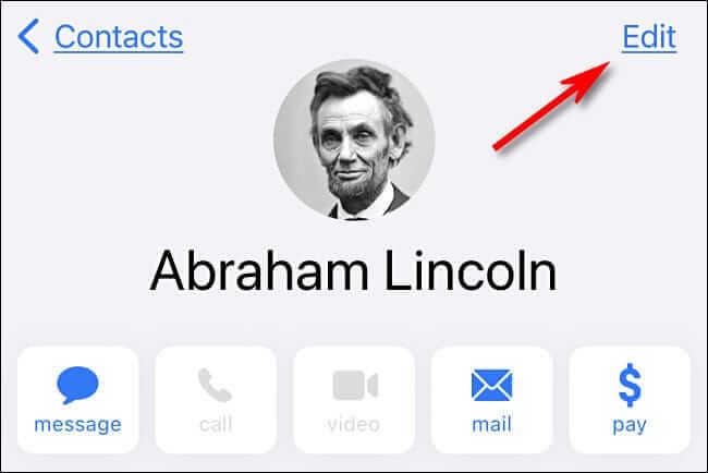 كيفية إضافة تاريخ الميلاد لجهات الاتصال على IPhone؟