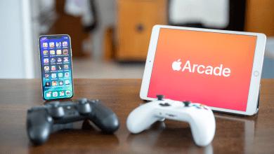 جميع ألعاب ابل اركيد Apple Arcade و التي تدعم (القبضة) وحدات التحكم