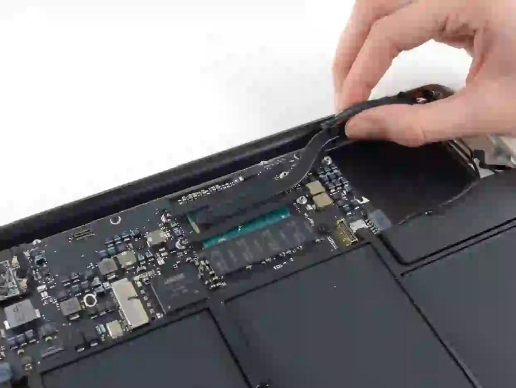 macbook air heat sink replacement