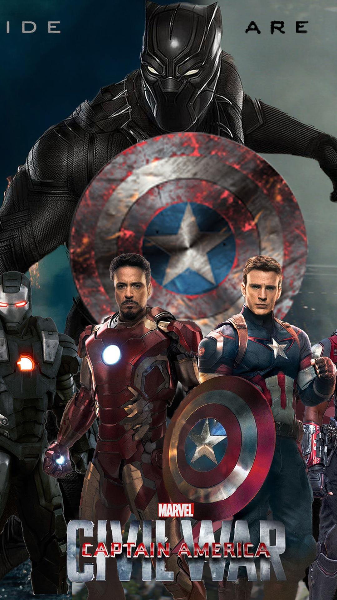 Captain America Civil War Hd Wallpapers For Iphone