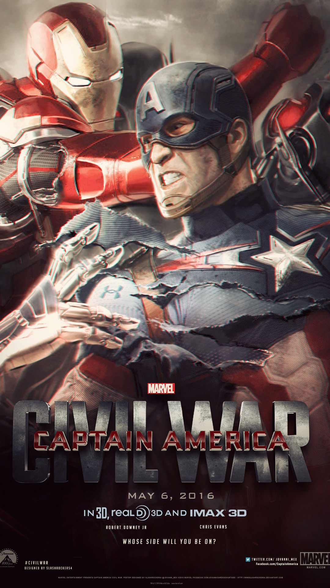 Iphone 6s 3d Touch Wallpaper Captain America Civil War Hd Wallpapers For Iphone Apple