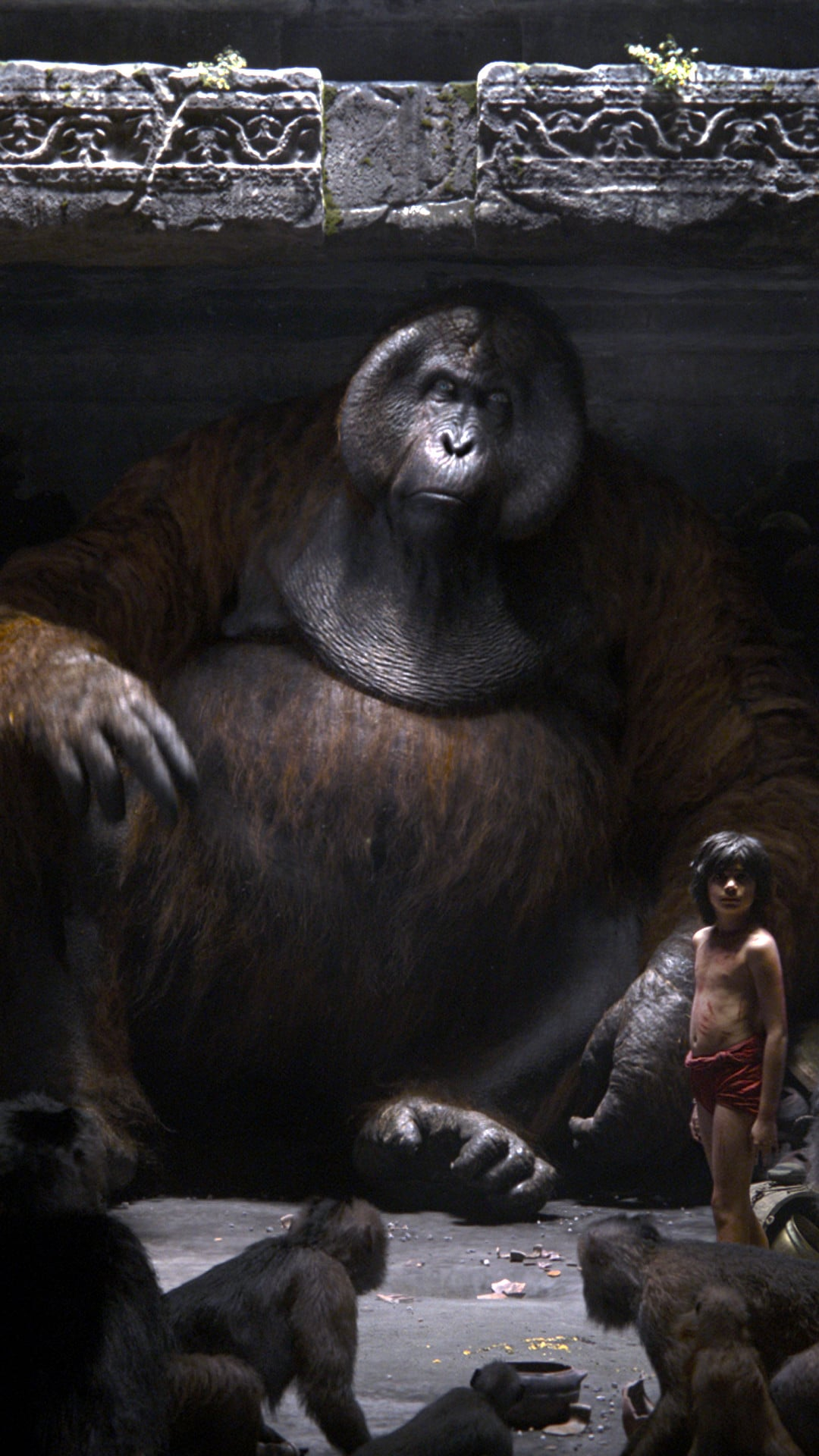 Animated Jungle Wallpaper The Jungle Book 2016 Movie Wallpapers For Iphone Apple Lives
