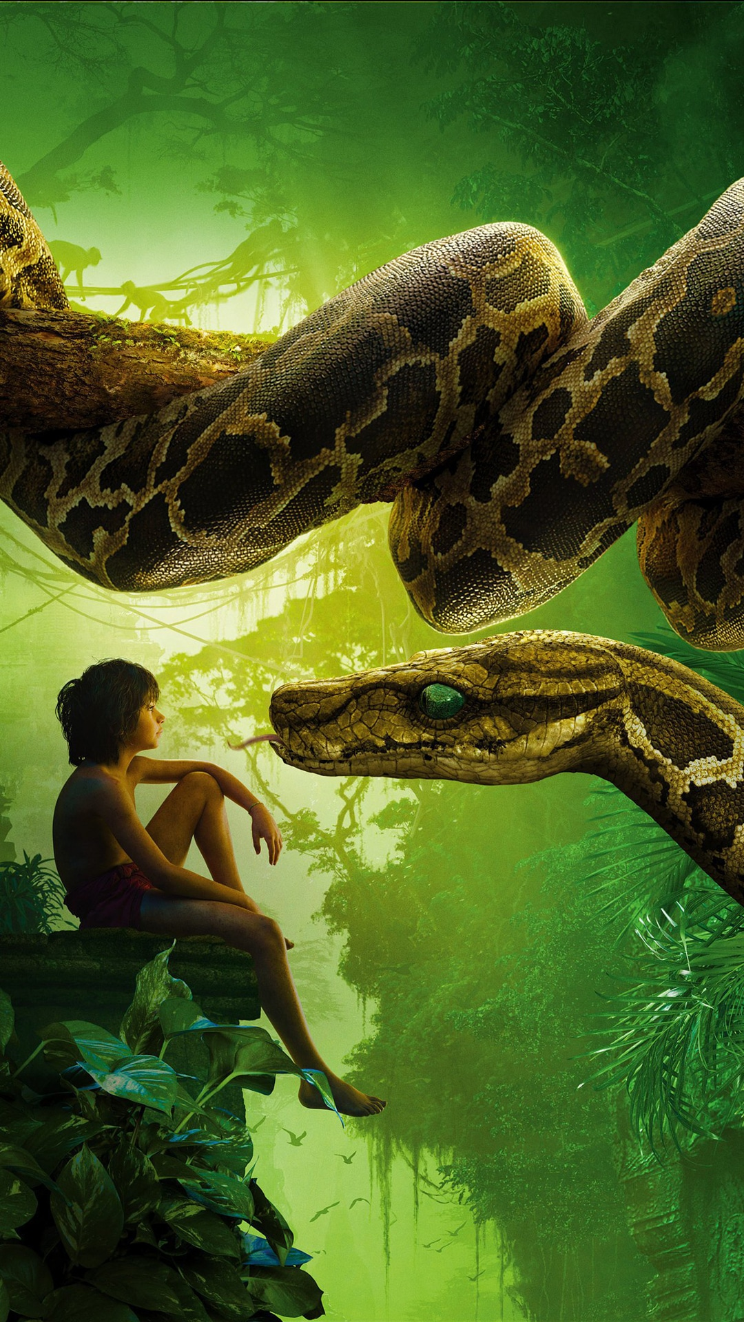Iphone Book Wallpaper The Jungle Book 2016 Movie Wallpapers For Iphone Apple Lives