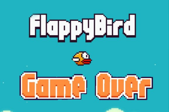 Game Over For Flappy Bird App