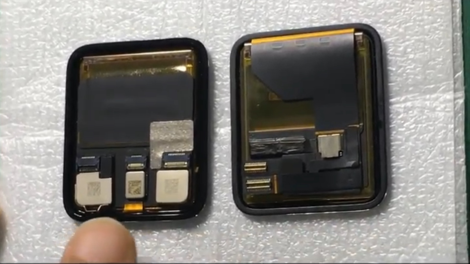 Video Shows Alleged Display and Battery for Apple Watch 2 ...