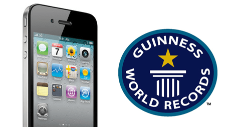 Guinness World Record iPhone 4