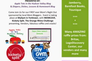 All About 9/19 Apple Tots in the Hudson Valley's Mom's Night Out #appletotsmno