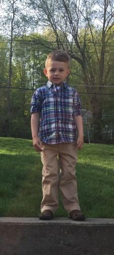 Jack wearing Hudson Sandals