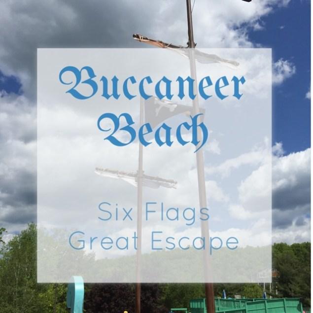 Six Flags Buccaneer Beach