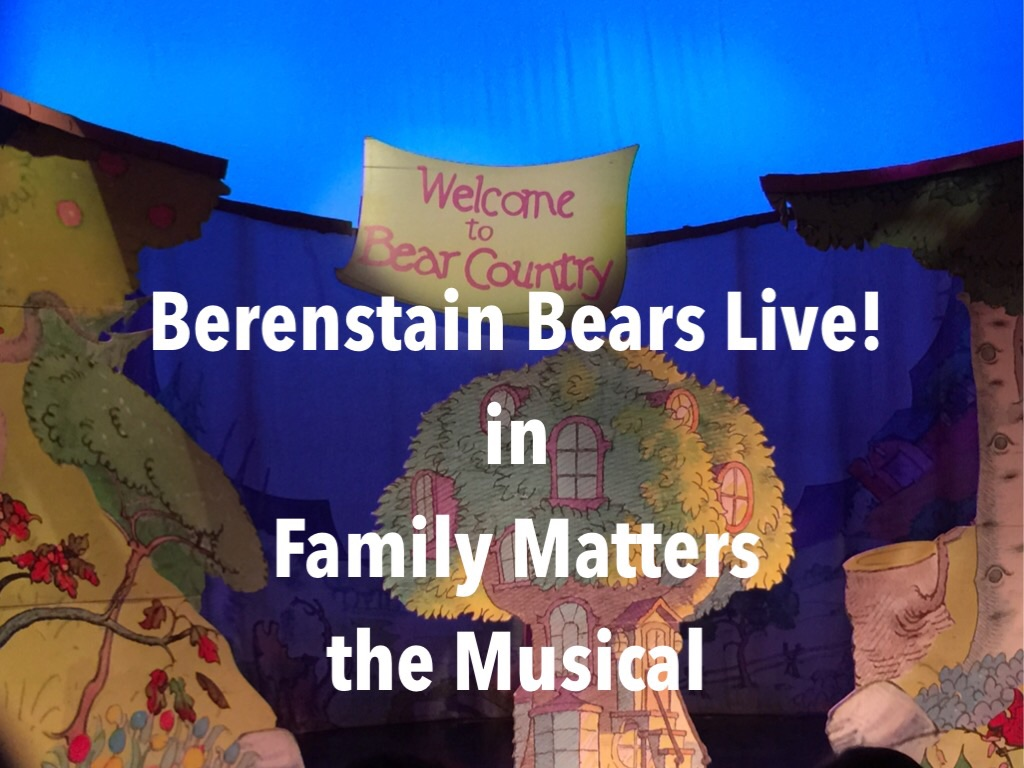 Berenstain Bears LIVE In NYC