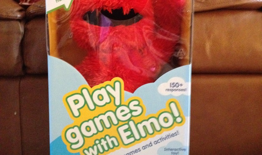 Review: Playskool Play All Day Elmo Toy & DVD
