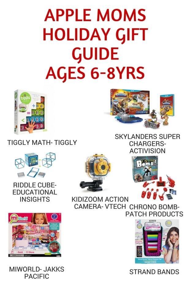 Holiday Gift Guides ages 6