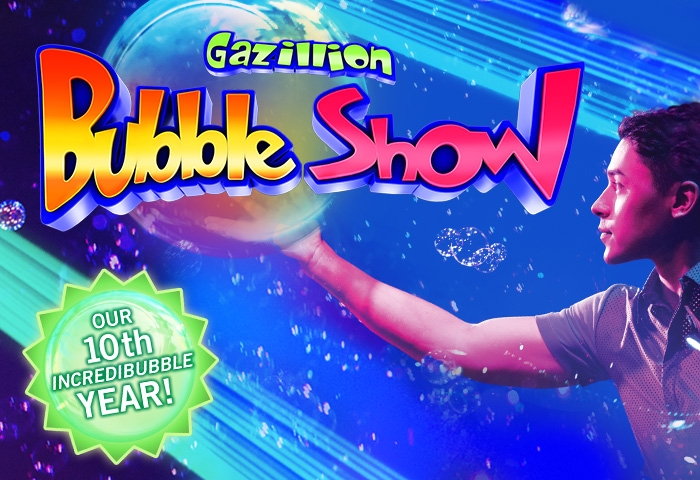 Gazillion Bubble Show NYC: Review and Ticket Discount