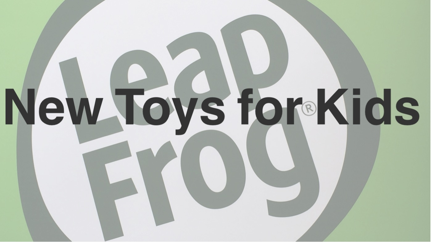 LeapFrog has New Toys Coming