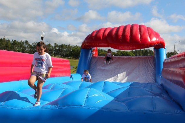Inflatable Fun Run Barton Orchards