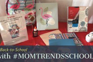 Back-to-School Trends with #MOMTRENDSSCHOOL