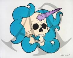 """Tentacle Skull"" - Ashley Pleasant"