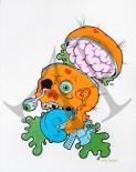 """Zombie Head"" - Ashley Pleasant"