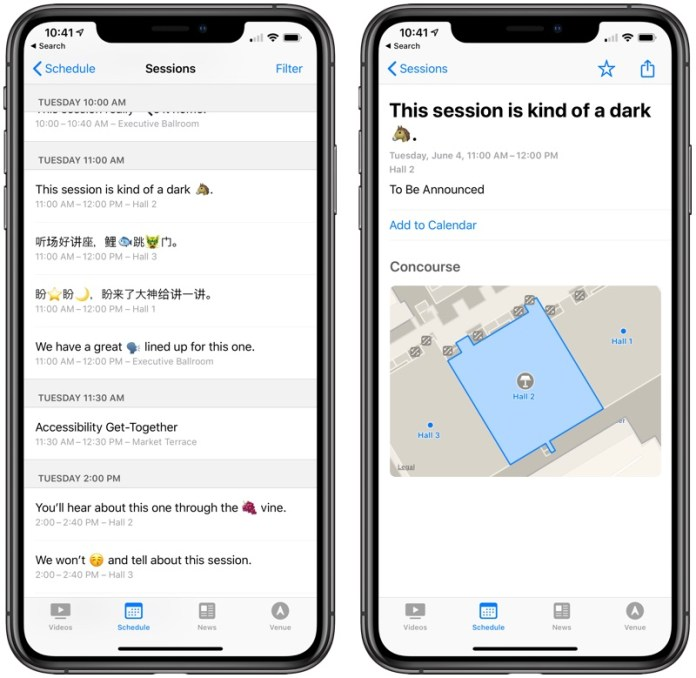 Apple updates WWDC app ahead of WWDC19