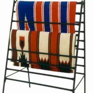 blanket display, heavy duty blanket display, blanket holder, heavy duty blanket holder