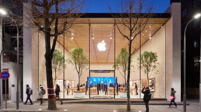Apple Garosugil станет первым магазином, который вновь откроется после выключения коронавируса