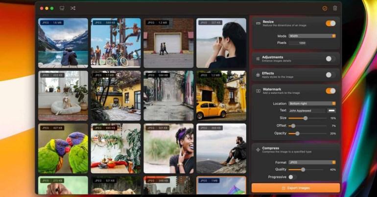 Squash 3 для Mac - новое мощное приложение для пакетного редактирования изображений, теперь доступное в бета-версии