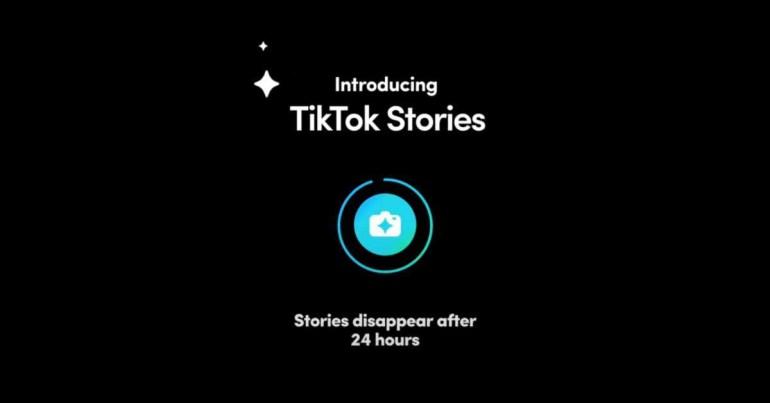 TikTok тестирует функцию Snapchat-подобных историй