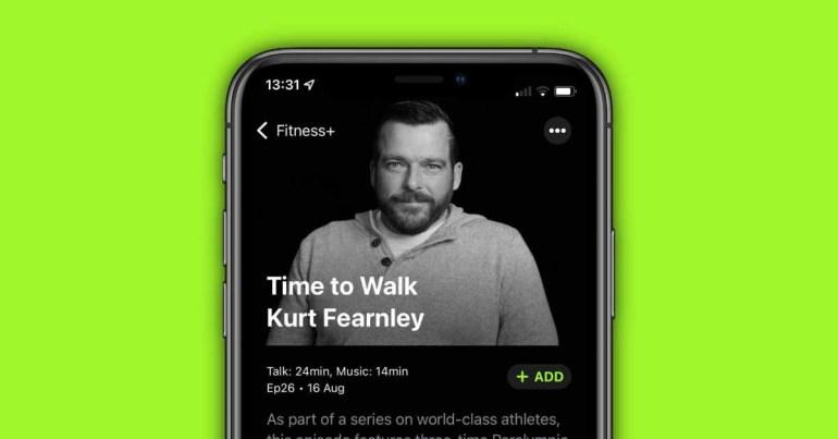 В Apple Fitness + появилась новая тренировка «Время ходить»