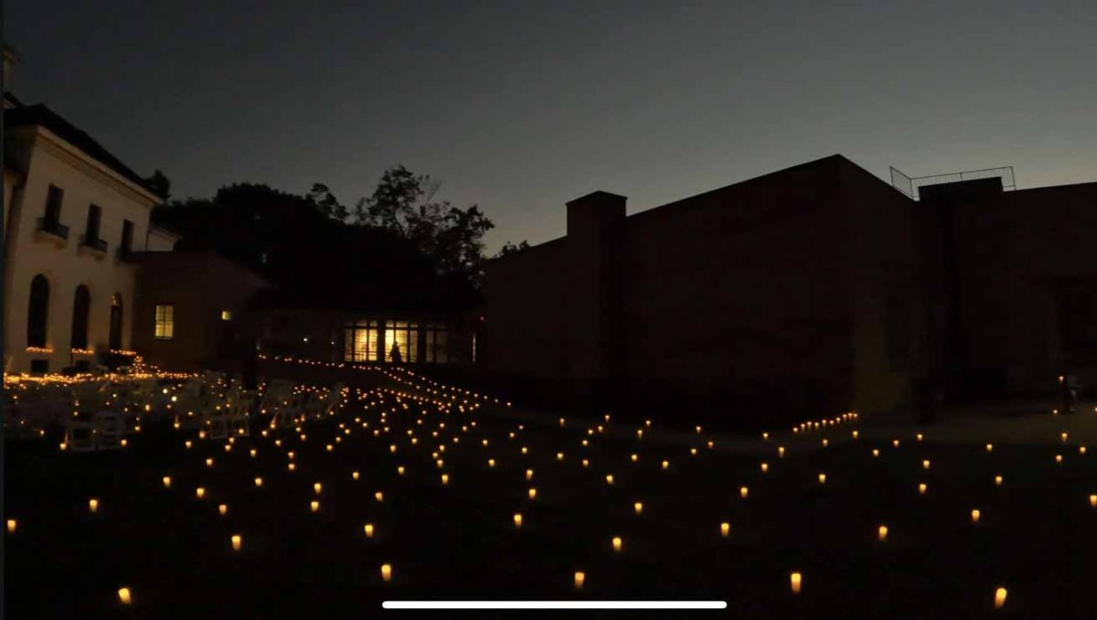 Кадр из ночного видео 4K