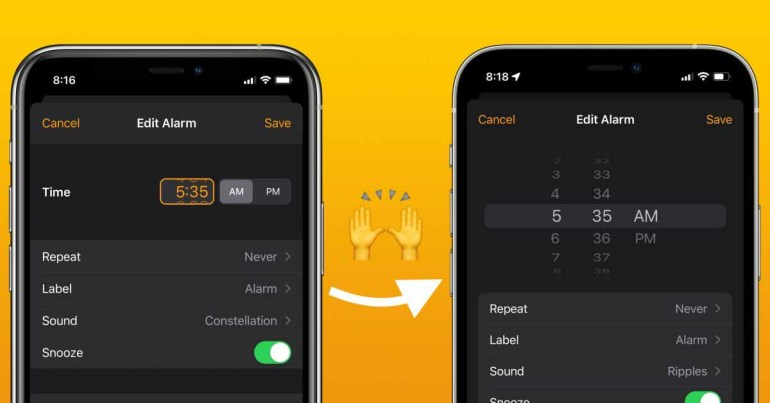 Средство выбора набора в iOS 15: как это работает, скрыто, оцепенело и многое другое