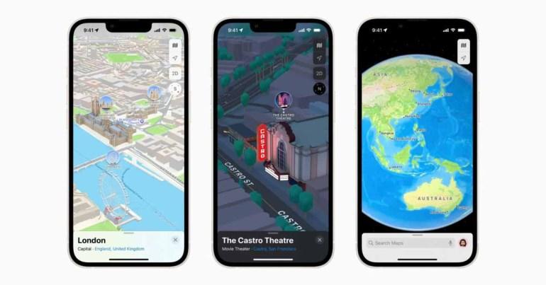 Apple Maps расширит трехмерный вид на другие города в ближайшие месяцы