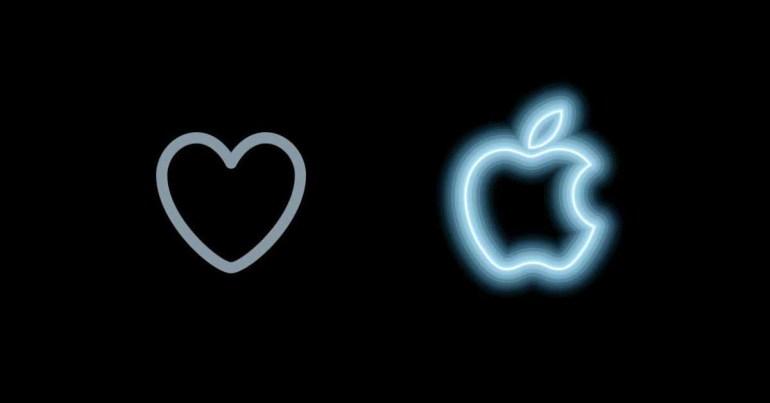 Хэш-флаг #AppleEvent отображает анимацию, когда вам нравится твит