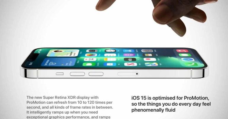 Не так ProMotion: сторонние приложения ограничены анимацией 60 Гц на iPhone 13 Pro