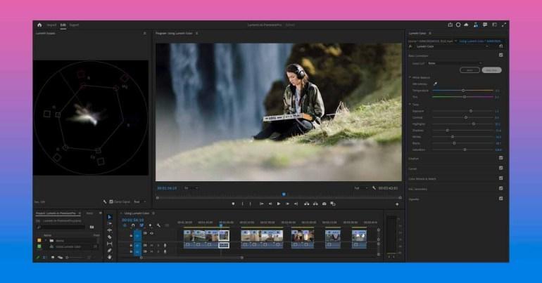 Adobe добавляет в Premiere Pro Beta функцию Auto Tone одним щелчком мыши для интеллектуальной цветокоррекции.