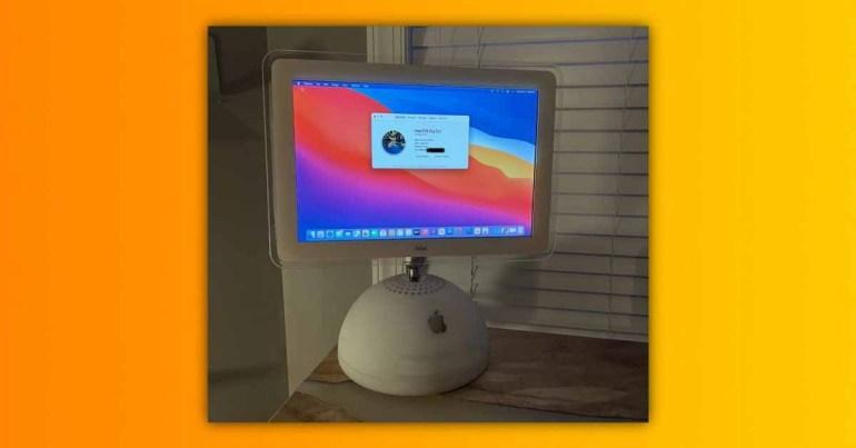 Поклонник Apple превращает iMac G4 в компьютер Mac M1 [Video]