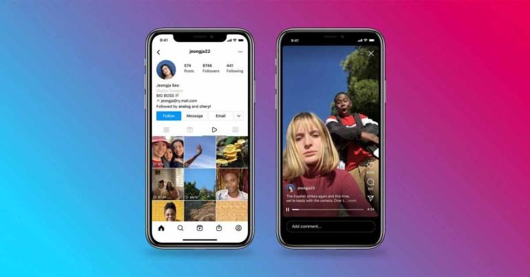 «Видео из Instagram» - это новый дом для вашего IGTV и видео каналов.