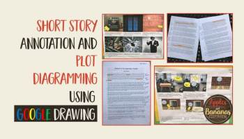 Short Story Pre-Writing and Brainstorm Activity - Apples and