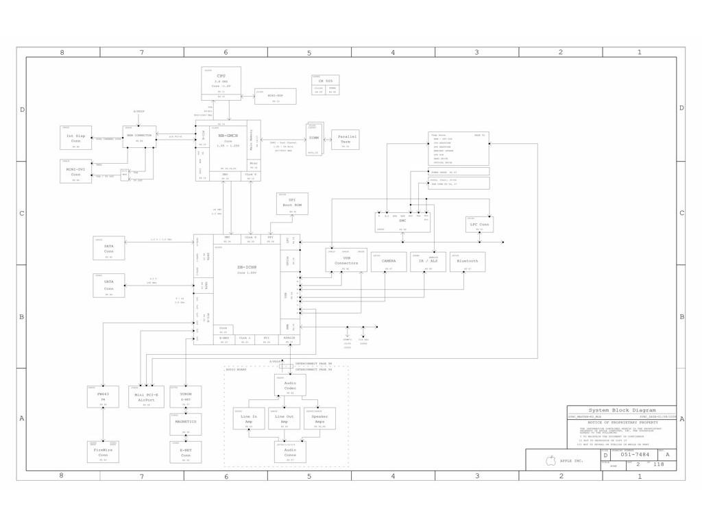 APPLE IMAC ALUMINIUM 24″ SCHEMATIC – K3-PVT