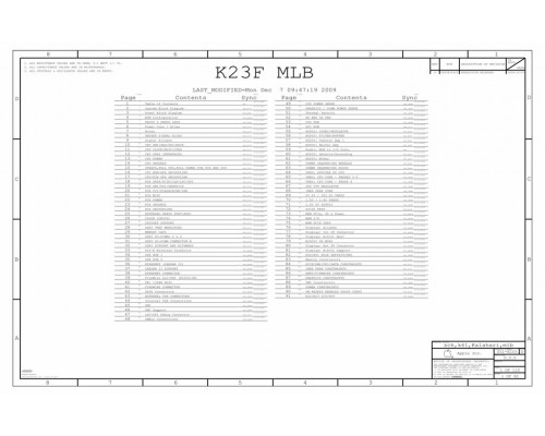 APPLE IMAC 27″ A1312 SCHEMATIC – 820-2733-A