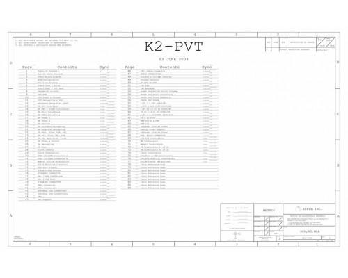 APPLE IMAC 20″ LOGIC BOARD SCHEMATIC – K2-PVT