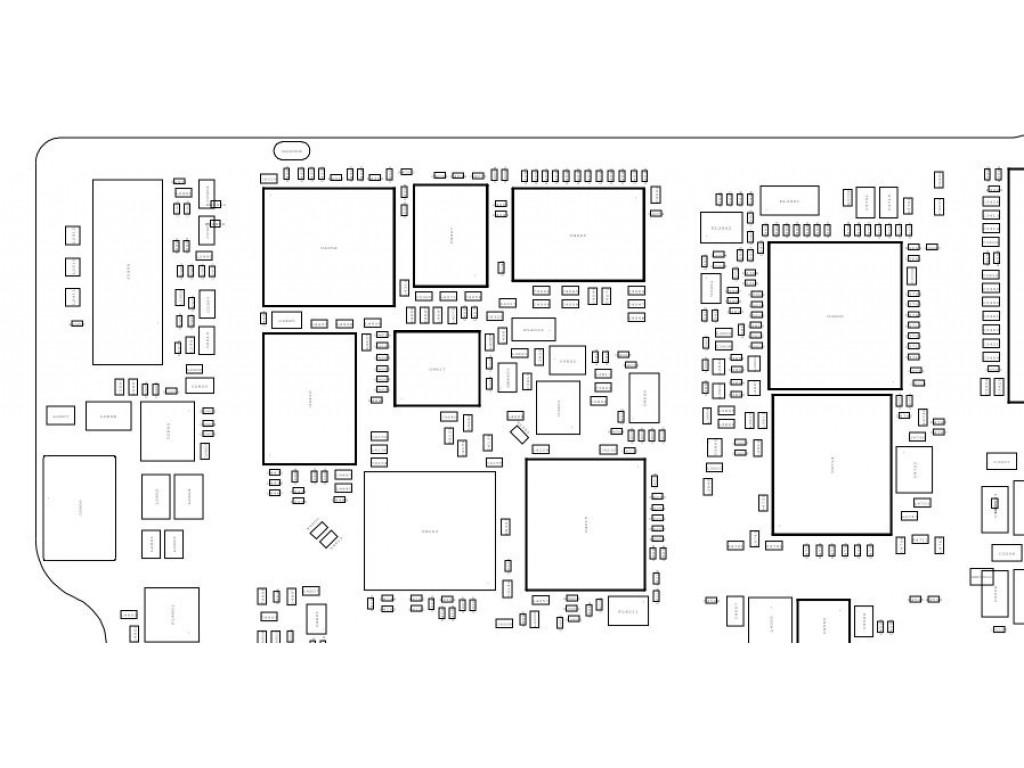 APPLE IPAD MINI 2 X200 MLB-C1 820-4124-A BOARDVIEW [APPLE