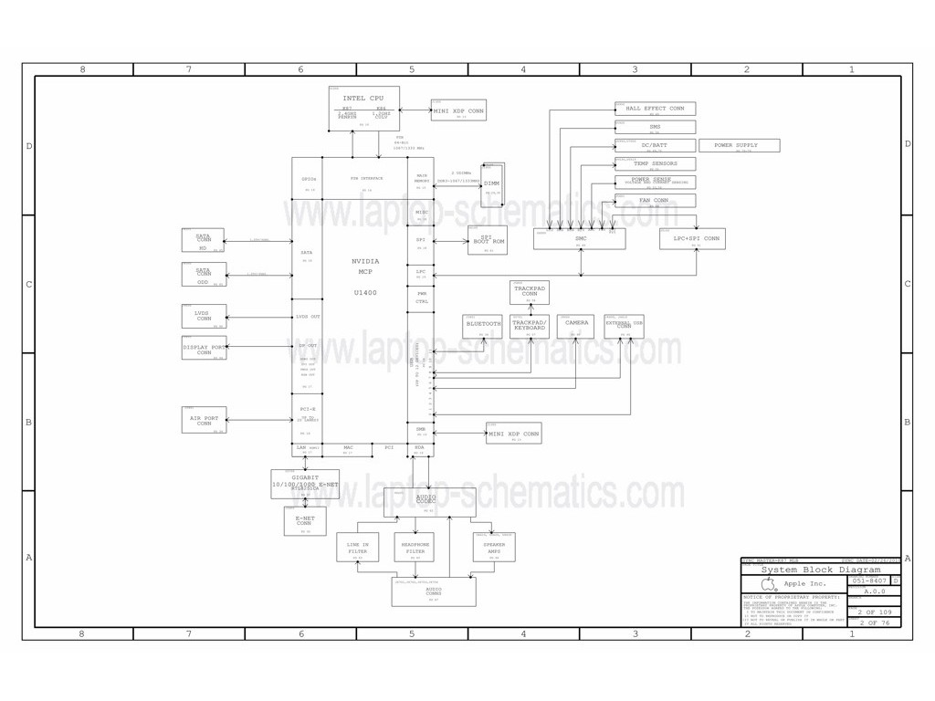 Apple Mlb Itchy 820 051 Schematic Apple Mlb