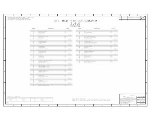 APPLE MACBOOK AIR A1465 SCHEMATIC