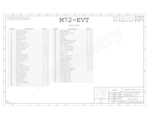 APPLE IMAC ALUMINIUM 20″ A1224 LOGIC BOARD SCHEMATIC