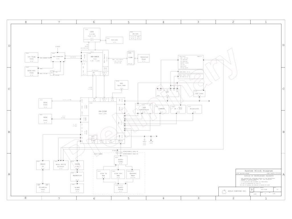 Apple Imac Aluminium 20 A Logic Board Schematic 820