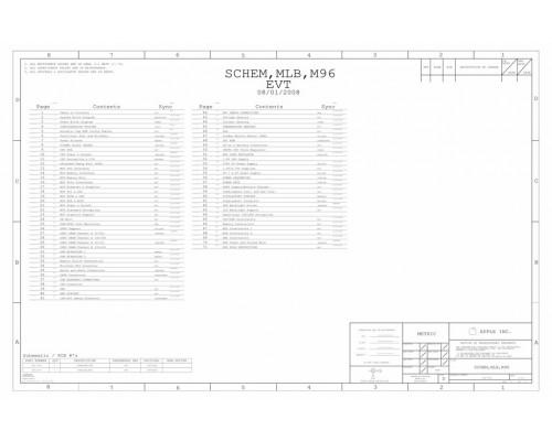 APPLE MACBOOK AIR A1304 SCHEMATIC – 820-2375