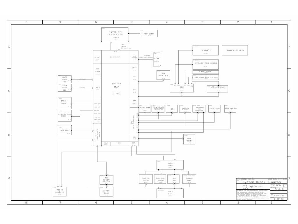 apple a1278 schematic diagram